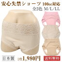 あっ!ショーツ 失禁パンツ 100cc対応 日本製 特許製品