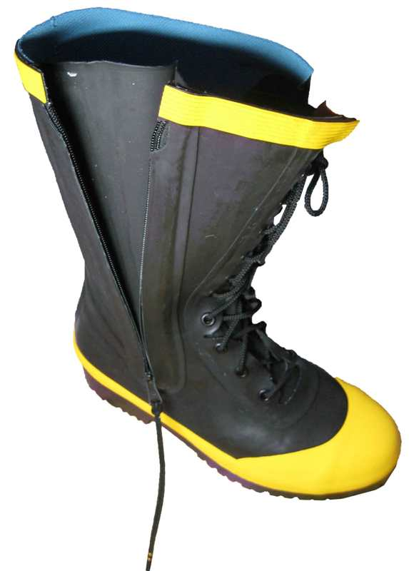 消防ケブラー入りゴム編上げ長靴【29.0サイズ...の紹介画像2