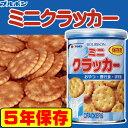 保存缶 ブルボン 缶入りミニクラッカー 75g 非常食 5年...