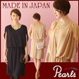 【日本製】【授乳服 お宮参り フォーマル 結婚式 ワンピース】大人の上品を演出する♪ジョーゼット素材の授乳口つきワンピース