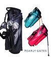 【NEW】PEARLY GATES NEWEST!優れた機能が満載!パーリーゲイツ・トリプルアクション・スタンドバッグ053-6180200
