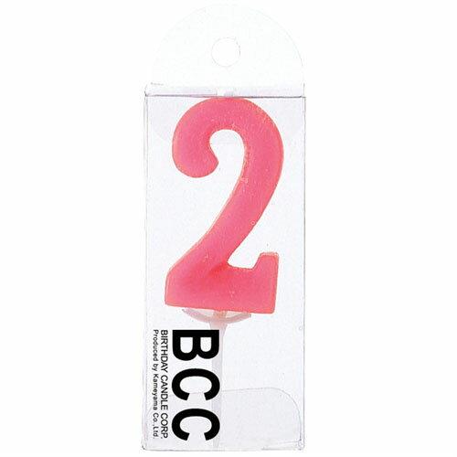 ナンバーローソク(キャンドル)数字2★【定形外便】で翌日発送♪誕生日の演出に☆盛り上げグッズ【北海道_スイーツ】
