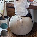 ビボラ Vivora シーティングボール ルーノ シェニール バランスボール 65cm Luno Chenille ヴィヴォラ 椅子 デザイン ソファー 姿勢 おしゃれ オフィス 軽量 インテリア エクササイズ チェアあす楽