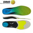 シダス Sidas インソール ラン 3D プロテクト 立体形状 中敷き 衝撃吸収 ランニング ジョギング マラソン 315497000/CSE3DRUNPROT19 あす楽
