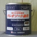 (吉田製油所) クレオソート油R こげ茶 2Kg