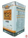 【送料無料】1液ファインウレタンU100 つや有り 黒/ブラック 15kg 日本ペイント ウレタン 弱用剤塗料