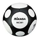 品番:MC581-WBK ≪2014春夏≫サッカーボール5号球【ミカサ】5号球≪MIKASA2014SS≫