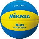 品番:SB5-YBL 【ミカサ】バスケットボール キッズバスケットボール(EVA)スマイルボール(EVA)