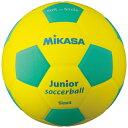 品番:SF4J-YLG≪2015春夏≫(サッカーボール軽量4号球)【ミカサ】スマイルサッカー軽量4号スマイルボール(EVA)