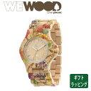 【正規販売】WEWOOD ウィーウッド DATE メンズ レディース 男女兼用 クォーツ FLOWER BEIGE