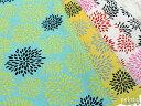 【プライスダウン】【再値下げ】綿麻キャンバス 和風フラワープリント