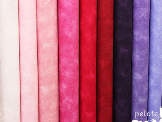 綿シーチングタイダイプリント Warm(ウォーム)カラー