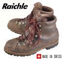 ヴィンテージ 1970年代頃 スイス製 / Raichle ライケル / アウトドア マウンテンブーツ / ダークブラウン / JPN28.0cm【中古】○♪