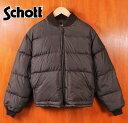USA製 / Schott ショット / ダウンジャケット 【Lot:AT023】/ ダークブラウン / メンズM【中古】▽【05P01Oct16】
