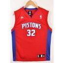 adidas アディダス NBA Detroit Pistons デトロイト・ピストンズ リチャード・ハミルトン バスケ タンクトップ ユニ...