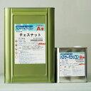 【送料無料】【注ぎ口(ベロ付)】パラサーモシリコン チェスナット 16Kg/セット 日本特殊塗料 遮