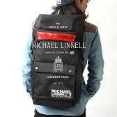 【送料無料】MICHAEL LINNELL/マイケルリンネル ML-013 リフレクター キャノンパック バックパック【リュックサック レディース メンズ かわいい リュック バッグ 通勤 通学 A4】