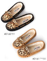 MINNETONKA/�ߥͥȥ�LEOPARDCallySlipper/�쥪�ѡ��ɥ���꡼����åѥ⥫����
