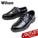 【アウトレット】Wilson ウィルソン ビジネスシューズ ...