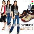 SPEEDY DUCK/スピーディダック スニーカータイプ モックシューズ/ウォーキングシューズ【スピーディーダック】【スニーカー】