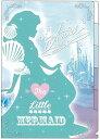 ディズニー ファンシースタイル シルエット クリアファイル5P【アリエル】 サンスター S2159120