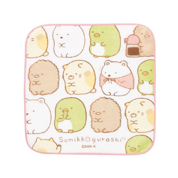 すみっコぐらし プチタオル【ならび】 サンエックス CM51207