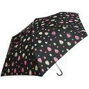 リラックマ 折りたたみ傘【ブラック/しずく】 サンエックス KF86901