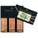 ファーバーカステル ピット パステル鉛筆 112160 60色(缶入)【 プレゼント ギフト 】【ペンハウス】 (18000)