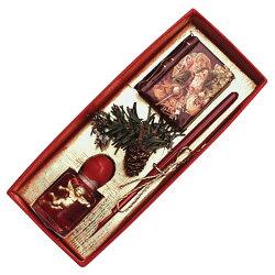 ルビナート ウッディホルダーペン クリスマス ライン MC/08-4100 カラーメタル (4100)