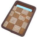 ショッピングボールペン リンデン カードホルダー 突き板シリーズ パスカードケース PASSCARD 【 プレゼント ギフト 】【ペンハウス】 (2800)
