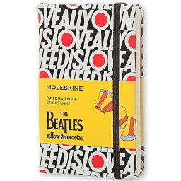 【 今だけ!ポイント10倍 】モレスキン ノートブック 限定品 The Beatles LEBEAMM710LO 851541 ポケットサイズ All You Need Is Love(横罫)「ブランド」「デザイン文具」 【 プレゼント ギフト 】【万年筆・ボールペンのペンハウス】 (2300)
