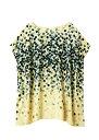 手織りシルクランダムドットプリント チュニックブラウス【フェアトレード】【ピープルツリー】【PeopleTree】