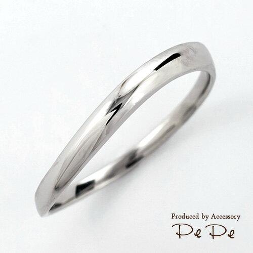 プラチナ900 マリッジリング(メンズ)(ウェーブ)(TRUE HEART/PE-01)[3191100101] 【メンズ単品】【送料無料】