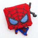 マーベル スパイダーマン 刺繍ブローチ
