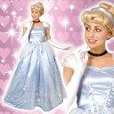 ディズニー コスチューム 大人 ディズニー コスチューム 大人 女性用 シンデレラ プリンセス ドレス デラックス ウィッグ付 仮装