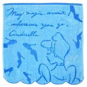 シンデレラ ギフトタオル ハンドタオル タオルハンカチ ブルー プリンセスメッセージ ディズニー ギフト プレゼント