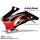 AMR Racing CBR250R ドレスアップ・カバー 専用グラフィック コンプリートキット トライバルフレーム グリーン グレー