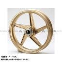 BITO R&D ZZR1100 ホイール本体 マグネシウム鍛造ホイール セット MAGTAN JB2 フロント:3.50-17/リア:6.00-17 カラー:ゴールド ビトーR&D