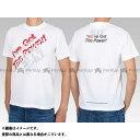 ショッピングウェア 【無料雑誌付き】YOSHIMURA カジュアルウェア Tシャツ(I've Got The Power!) カラー:白 サイズ:S ヨシムラ