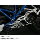 AELLA R1200R R1200RS ステップ ライディングステップバーキット:丸筒タイプ(BMW R1200R/RS) ブラック 77mm