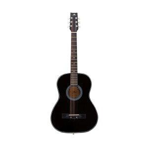 アコースティックギター ブラック