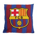 FCバルセロナ フットボールクラブ FC Barcelona オフィシャル クレストデザイン クッション ピロー 枕 サッカークッション 【楽天海外直送】