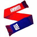 NFL ニューヨーク・ジャイアンツ New York Giants オフィシャル商品 ロゴ マフラー スカーフ 【楽天海外直送】
