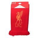 リバプール フットボールクラブ Liverpool FC オフィシャル商品 フットボールスカーフ マフラー 【楽天海外直送】