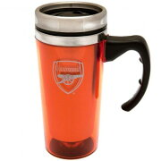 アーセナル フットボールクラブ Arsenal FC オフィシャル商品 アルミニウム トラベルマグ タンブラー 【楽天海外直送】