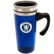 チェルシー フットボールクラブ Chelsea FC オフィシャル商品 アルミニウム トラベルマグ タンブラー 【楽天海外直送】