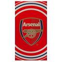 アーセナル フットボールクラブ Arsenal FC オフィシャル商品 Pulse ビーチタオル バスタオル 【楽天海外直送】
