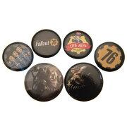 (フォールアウト) Fallout オフィシャル商品 76 ロゴ 缶バッジ (6個セット) 【楽天海外直送】