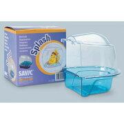 (サヴィック) Savic 鳥用 Splash バード ケージ バス 鳥用 水浴び容器 ペット用 ケージ内装 (色はお楽しみ) 【楽天海外直送】