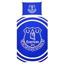 エバートン フットボールクラブ Everton FC オフィシャル商品 Pulse 掛け布団カバー・枕カバーセット 【海外通販】